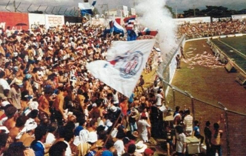 Torcida empolgada com o Grêmio