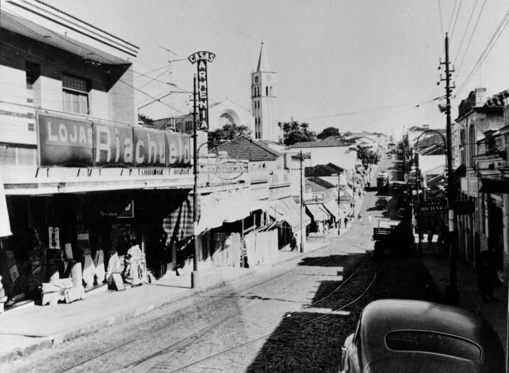 Imagem antiga da cidade