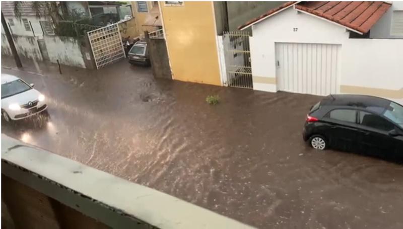 Humberto de Campos inundada