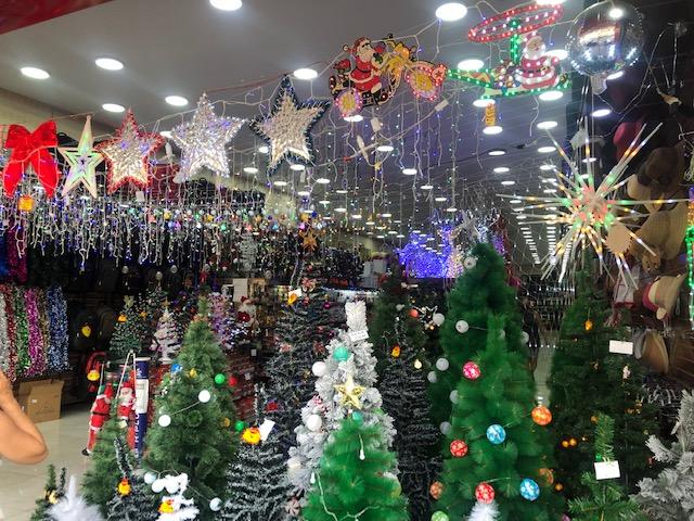 Produtos de Natal já estão nas lojas
